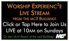Click Here to Watch the Worship Experience Live Stream!